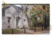 Chapel Of Ease Ruins And Mausoleum St. Helena Island South Car Carry-all Pouch