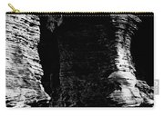 Chapel Rock Foundations Bw Carry-all Pouch