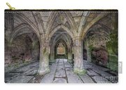 Chapter House Interior Carry-all Pouch by Adrian Evans