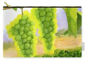 Chardonnay Grapes Carry-all Pouch by Mike Robles