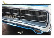 Charger 500 Front Grill And Emblem Carry-all Pouch