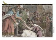 Charlemagne Receives The Ambassadors Carry-all Pouch