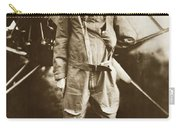 Charles A. Lindbergh And Spirit Of St. Louis May 12 1927 Carry-all Pouch