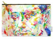 Charles Baudelaire Watercolor Portrait.1 Carry-all Pouch