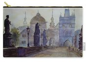 Charles Bridge Prague Carry-all Pouch