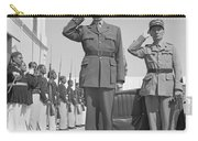 Charles De Gaulle In Carthage Tunisia 1943 Carry-all Pouch