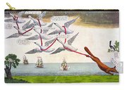Charles Fox: Cartoon, 1782 Carry-all Pouch