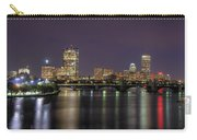 Charles River Reflections - Boston Carry-all Pouch by Joann Vitali