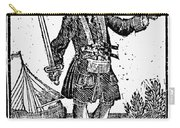 Charles Vane (c1680-1720) Carry-all Pouch