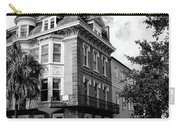 Charleston Corner Charleston Sc Carry-all Pouch by William Dey