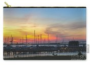 Charleston Harbor Sunset Carry-all Pouch
