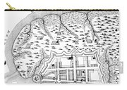 Charleston: Plan, 1704 Carry-all Pouch