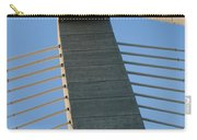 Charleston's Cable Bridge Geometric Abstract Carry-all Pouch