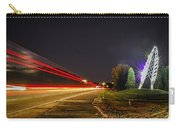 Charlotte City Airport Entrance Sculpture Carry-all Pouch