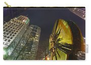 Charlotte Downtown At Night Carry-all Pouch