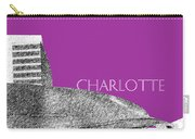 Charlotte Nascar Hall Of Fame - Plum North Carolina Carry-all Pouch