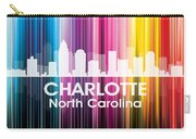 Charlotte Nc 2 Carry-all Pouch by Angelina Vick