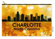 Charlotte Nc 3 Carry-all Pouch