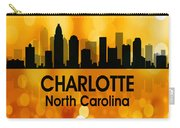 Charlotte Nc 3 Squared Carry-all Pouch