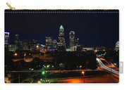 Charlotte Nc At Night Carry-all Pouch by Chris Flees