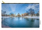 Charlotte North Carolina Marshall Park In Winter Carry-all Pouch