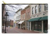 Charlottesville Virginia Downtown Mall Carry-all Pouch