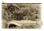 Charm Of Bow Bridge Carry-all Pouch