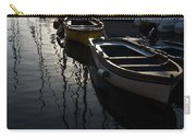 Charming Old Wooden Boats In The Harbor Carry-all Pouch