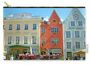 Charming Town Square In Old Town Tallinn-estonia Carry-all Pouch