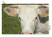 Charolais Cow Carry-all Pouch