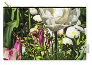 Chartres Garden White Carry-all Pouch