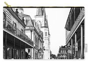 Chartres St In The French Quarter 3 Carry-all Pouch