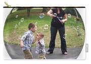 Chasing Bubbles Carry-all Pouch