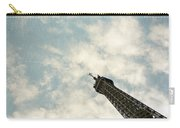 Chasing The Dream Paris Eiffel Tower Carry-all Pouch