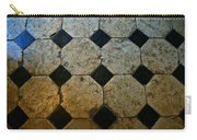 Chateau Brissac's Tile Floor Carry-all Pouch