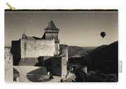 Chateau De Castelnaud With Hot Air Carry-all Pouch