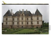 Chateau De Cormatin  And Garden - Burgundy Carry-all Pouch