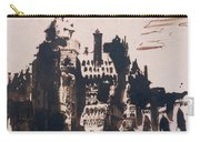 Chateau Fortified By Two Bridges Carry-all Pouch by Victor Hugo
