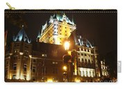 Chateau Frontenac At Night Carry-all Pouch