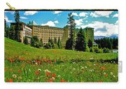 Chateau Lake Louise In Banff Np-alberta Carry-all Pouch