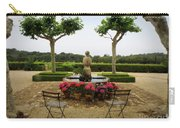 Chateau Malherbe Fountain Carry-all Pouch by Lainie Wrightson