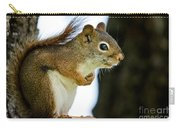 Chatty Squirrel Carry-all Pouch