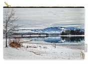 Chatuge Dam Winter Vista Carry-all Pouch