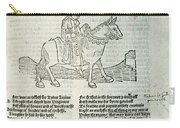 Chaucer: Prologue Carry-all Pouch