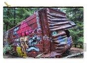Cheakamus Box Car Graffiti Carry-all Pouch