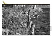 Cheboygan Lighthouse Bw Carry-all Pouch