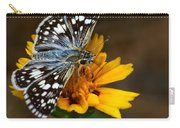 Checkered Skipper Square Carry-all Pouch