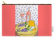 Cheese And Wine Carry-all Pouch
