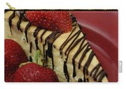 Cheesecake With Strawberries Carry-all Pouch