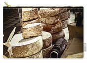 Cheeses On The Market In France Carry-all Pouch by Elena Elisseeva